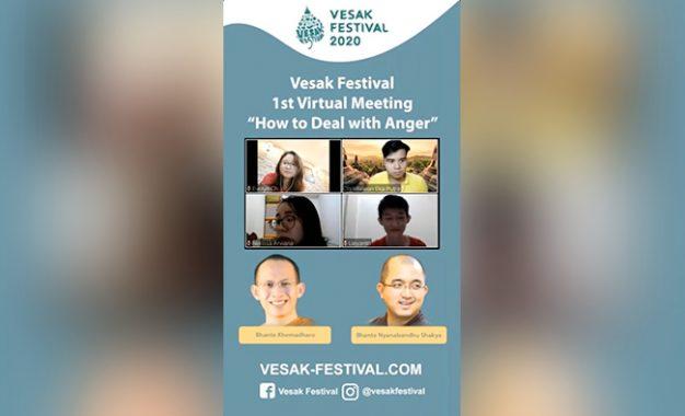 "E-Talkshow ""How to Deal with Anger"" – Corona Bukan Penghalang untuk Belajar Dhamma Bersama"