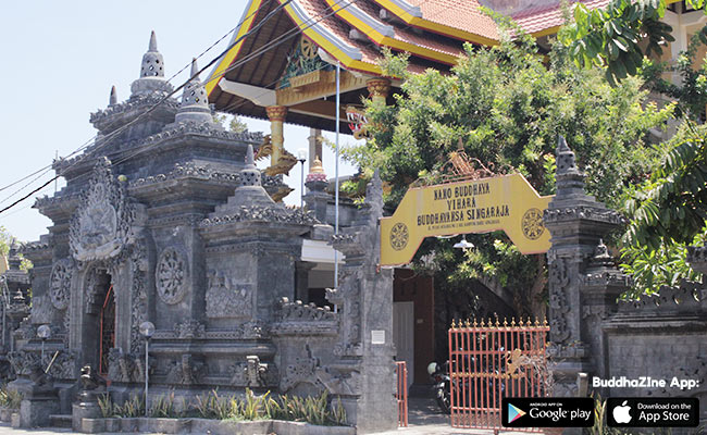 Rahajeng Rawuh di Vihara Buddhavamsa, Bali