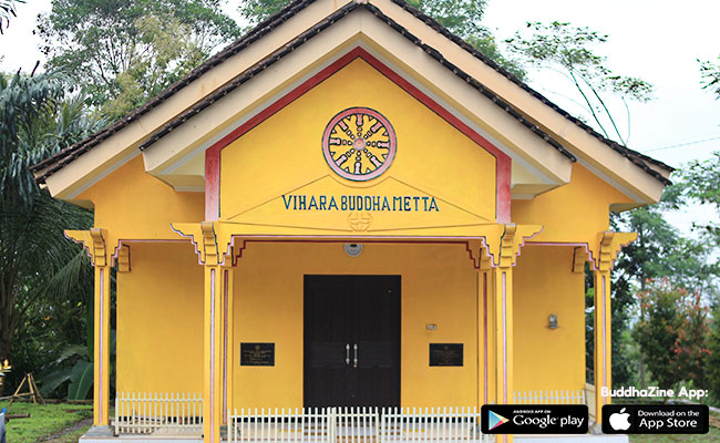 Main Yuk ke Wihara Buddhametta, Temanggung
