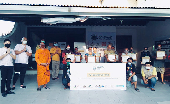 Vesak Festival Surabaya 2020 Gaungkan Lawan Corona