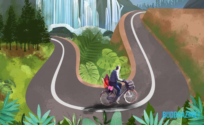 Memahami Ajaran Buddha dengan Bersepeda