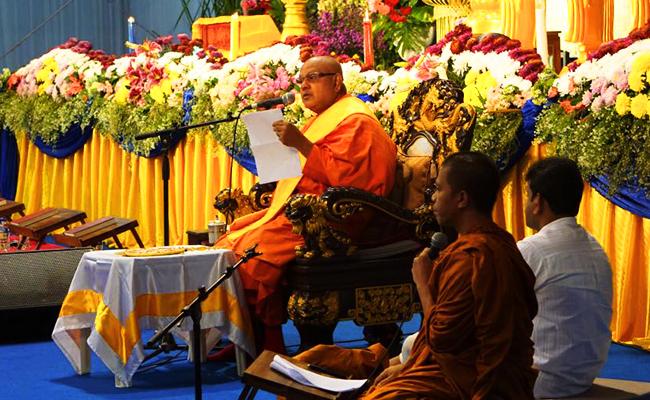Ceramah Bhikkhu Rahula Anunayake ITC ke-4