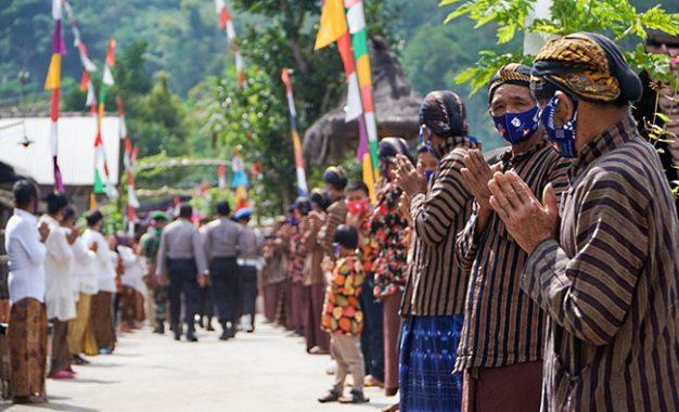 Dusun Buddhis Krecek Wakili Kecamatan Kaloran dalam Lomba Kampung Siaga Candi