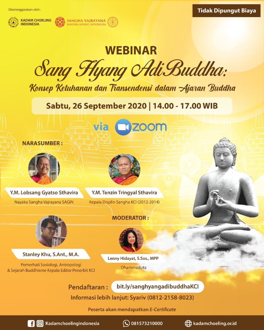 Merekonstruksi Konsep Ketuhanan Buddhis Indonesia
