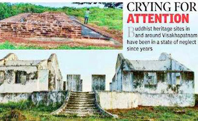 Situs-situs Warisan Buddhis di Andhra Pradesh, India, Masih Terlantar