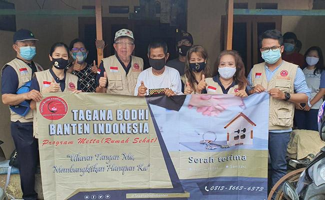 Di Masa Pandemi Tagana Bodhi Banten Indonesia Realisasikan Bantuan Rumah Sehat