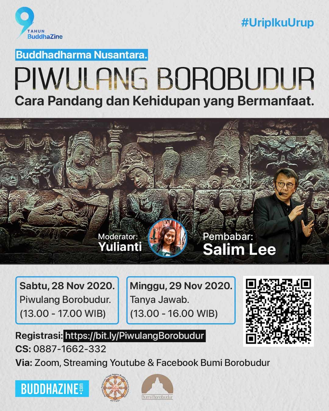 Piwulang Borobudur, Cara Pandang dan Kehidupan yang Bermanfaat