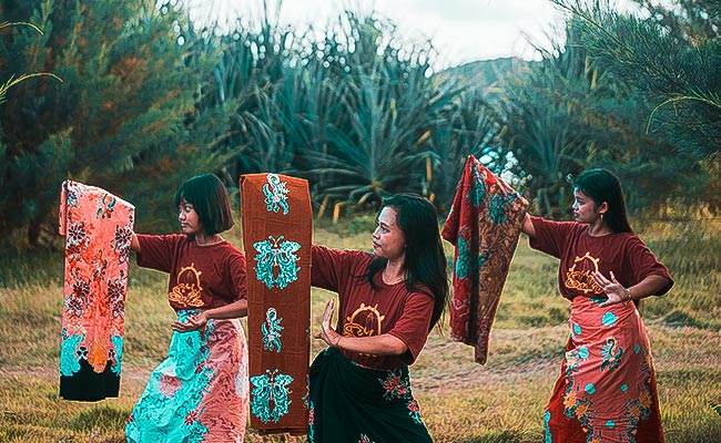 Ada Batik Banyuwangi Bercorak Buddhis