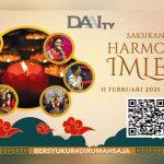 Rayakan Tahun Baru Imlek Penuh Syukur bersama DAAI TV