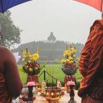 Bertepatan Dengan Maghapuja, Elemen Umat Buddha Melakukan Puja di Borobudur