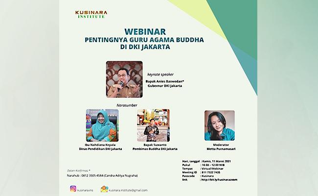 Pentingnya Guru Agama Buddha di Provinsi DKI Jakarta