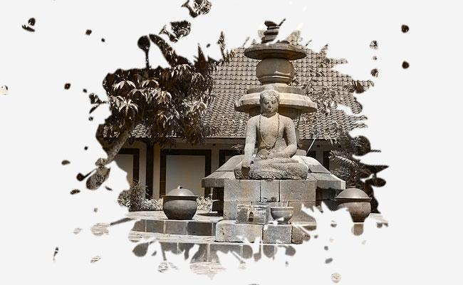The Unfinished Buddha, Berada di Stupa Induk Candi Borobudur?
