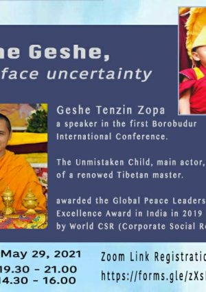 """Open Heart Dialogue, """"Ask The Geshe"""" with Geshe Tenzin Zopa"""