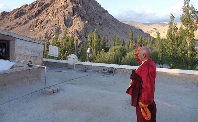 Uraian Waisak dari Pemimpin Seluruh Lama Wilayah Ladakh