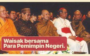 Waisak bersama Para Pemimpin Negeri