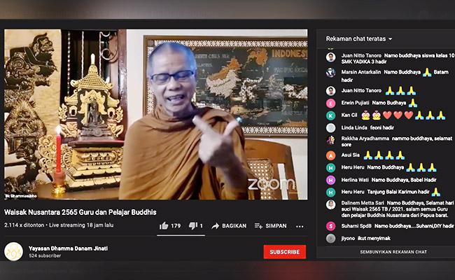 Pesan Bhante Dhammasubho untuk Guru Pendidikan Agama Buddha