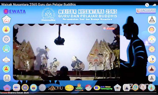 Guru, Pelajar, dan Puluhan Organisasi Pendidikan Buddhis Laksanakan Waisak Nusantara