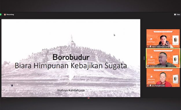 Bedah Buku Borobudur: Biara Himpunan Kebajikan Sugata