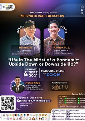 """International Talkshow """"Life in The Midst of a Pandemic: Upside Down or Downside Up?"""""""