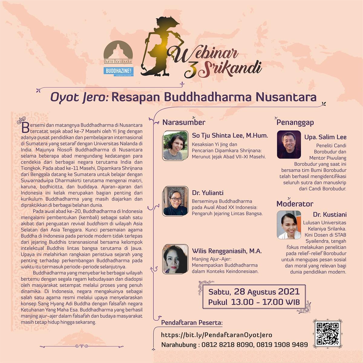 Oyot Jêro: Resapan Buddhadharma Nusantara