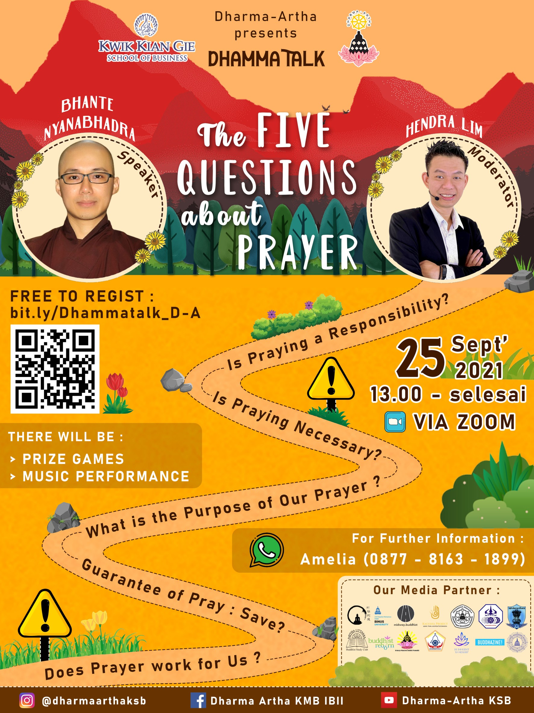 The Five Questions about Prayer