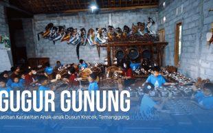 Gugur Gunung, Latihan Karawitan Anak-anak Dusun Krecek, Temanggung